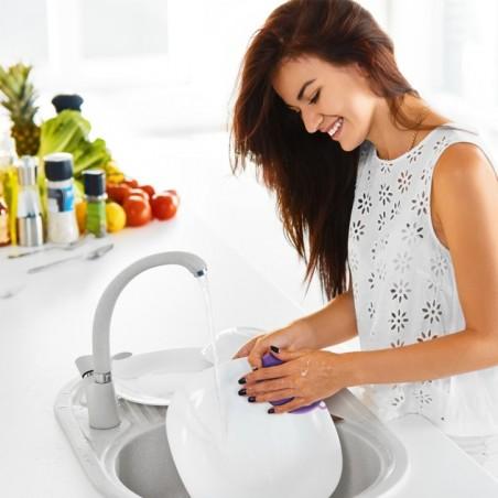 Éponge silicone pour la vaisselle