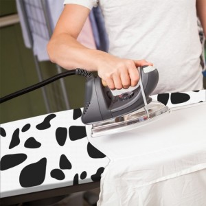 Housse à repasser vache