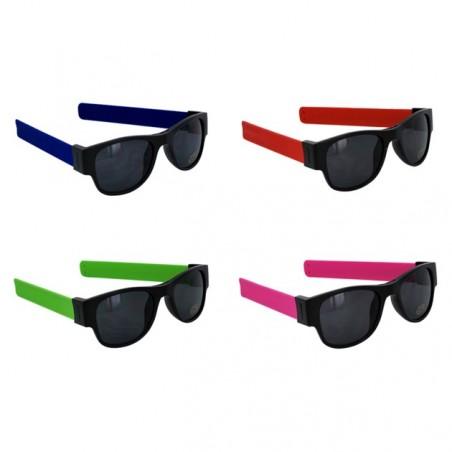 4 lunettes de soleil flexibles CLIX