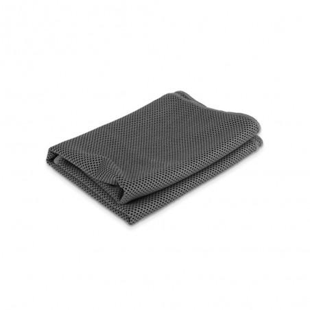 Serviette rafraîchissante grise Cool Down Towel pliée