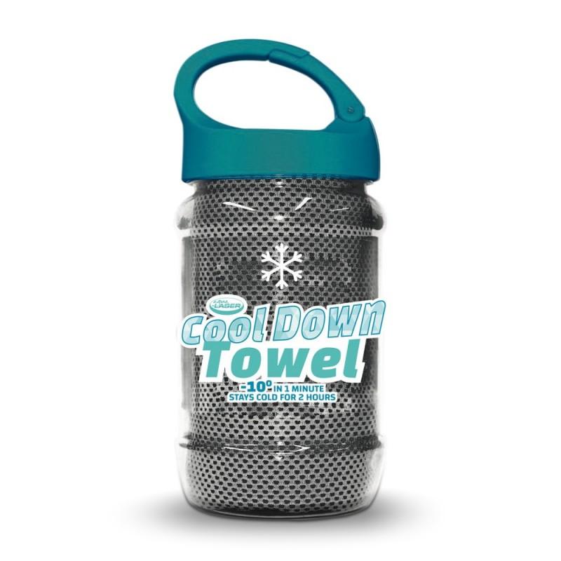 La Fitness With Towel Service: Serviette Rafraichissante Cool Down Towel