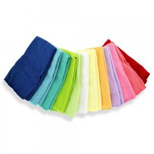 Serviettes microfibres multicolores