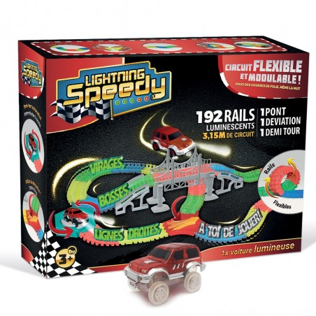 Circuit Speedy Lightning Rails Et Flexible Lumineux 372 f6Yb7gy