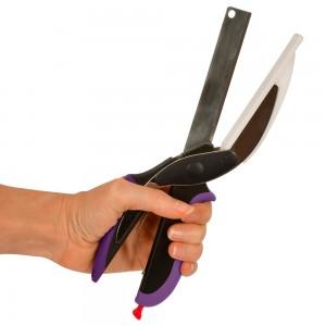 Couteau hachoir 2 en 1...