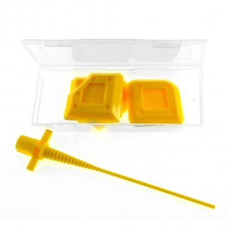 Lot de 4 outils de finition pour pose de joints en silicone