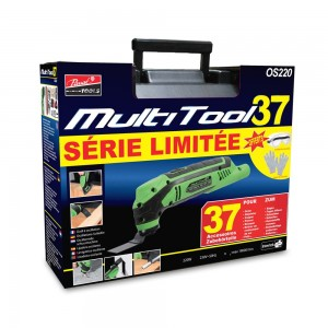 Multitool 37 accessoires +...
