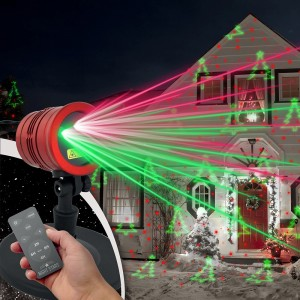 Projecteur lumineux de Noël...