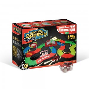 Nouveau circuit 192 rails Lightning Speedy