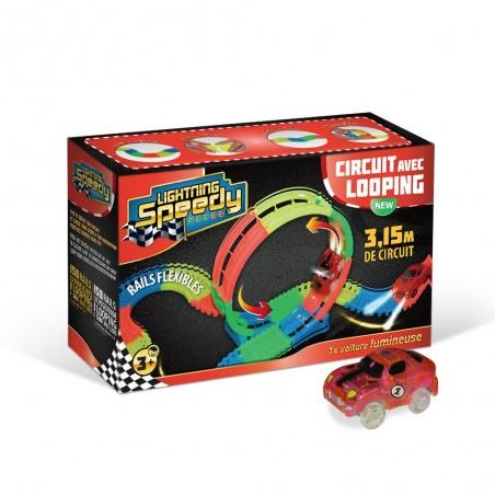 Circuit avec looping Lightning Speedy