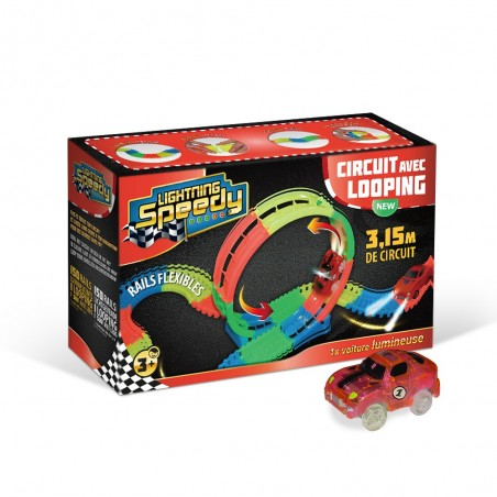 Circuit avec looping Lightning Speedy