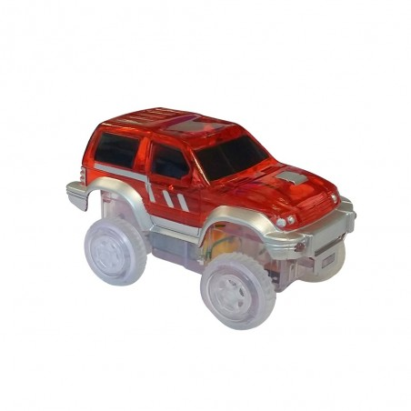 Voiture 4x4 rouge Lightning Speedy