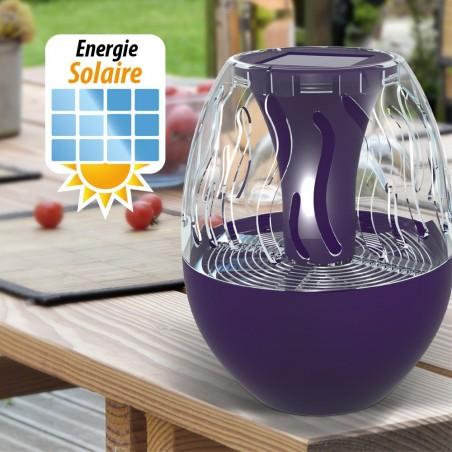 Piège à insectes à énergie solaire