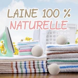 Balles en laine 100 % naturelles