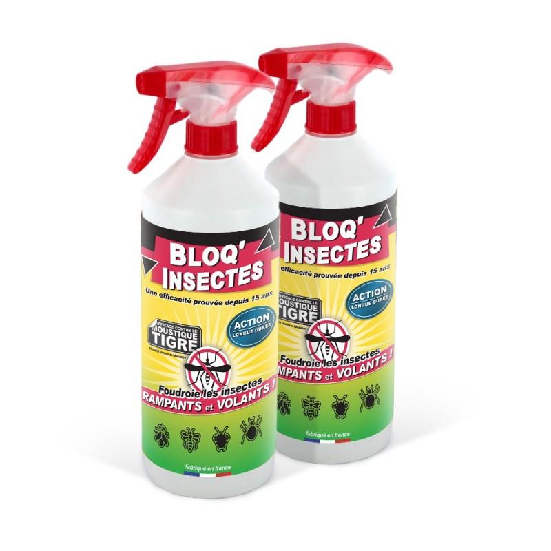 Lot de 2 répulsifs Bloq'Insectes