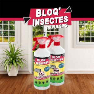 Insecticides BLOQ'INSECTES par lot de 2