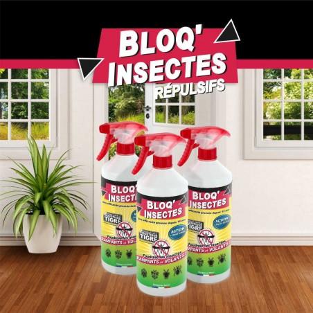 3 bidons de BLOQ'INSECTES