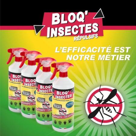 4 anti-insectes de marque BLOQ'INSECTES