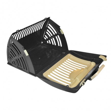 Cage de transport beige