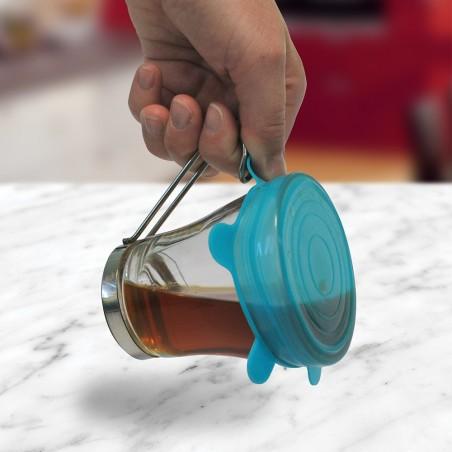 Couvercle pour tasse en silicone
