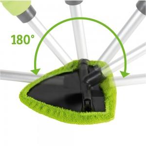 Tête orientable pour laver pare-brise