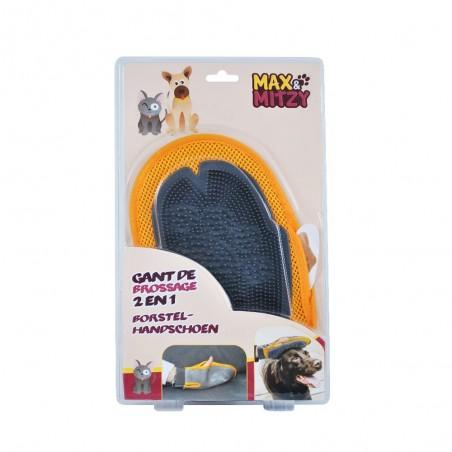 Gant de toilettage deux-en-un MAX&MITZY