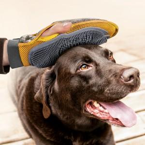 Gant de toilettage et massage pour chiens et chats MAX&MITZY