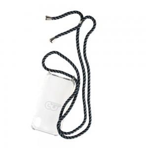 Coque noir GO LUCKY pour iPhone X
