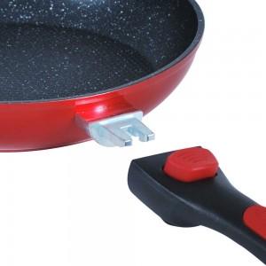Système de clipsage pour poignée amovible Tentation