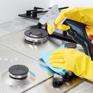 Nettoyer plaques de cuisson four