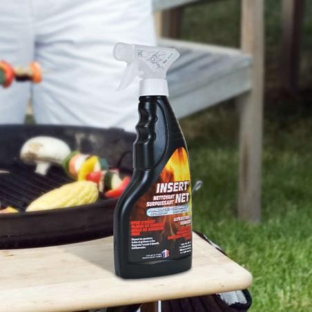 Nettoyant Insert'Net pour nettoyer barbecue