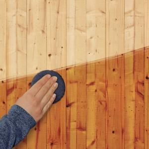 Rénovateur efficace qui redonne de l'éclat au support bois