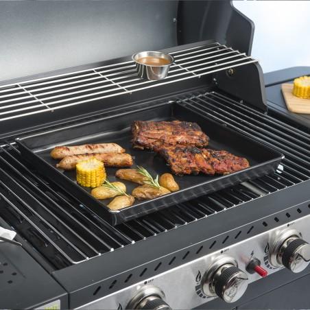 Plat de cuisson pour viandes et légumes
