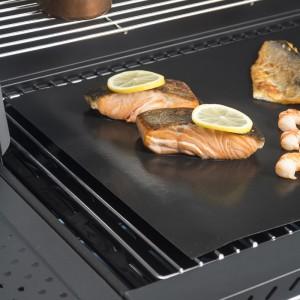 Feuille de cuisson réutilisable pour poissons, viandes et légumes