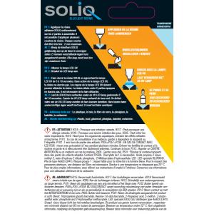 Consignes et données de sécurité de la résine plastique SOLIQ