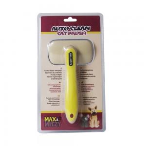 Brosse auto-nettoyante pour animaux de MAX&MITZY